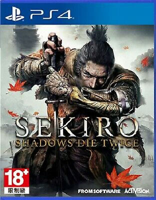 Sekiro: Shadows Die Twice Asia Chinese/English subtitle PS4 PreOwned