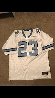 61294bfb741 NORTH CAROLINA UNC TAR HEELS JERSEY #23 MJ Michael Jordan Jumpman SEWN NIKE  Xl