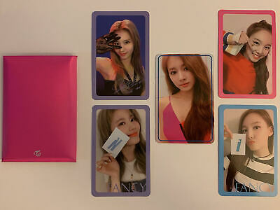 TWICE FANCY YOU Official Photocard Set 10 pc Preorder + 5 Nayeon Sana US  Seller