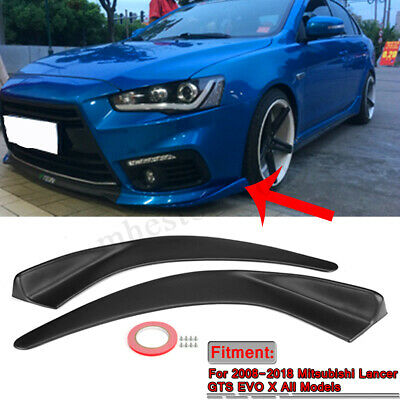 WIDE BODY VS Style Front Lip W/ Diffuser For 08-12