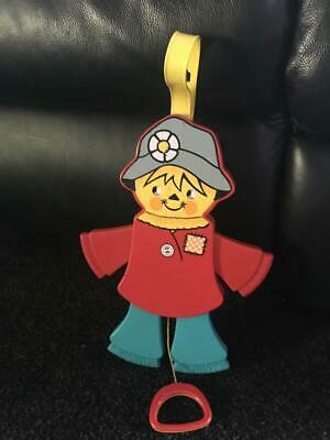 Vintage Fisher Price Scarecrow / Pull Toy / 1978 / Rare  - Great Price - Buy Now