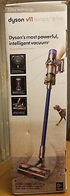 Dyson V11 Torque Drive Cordless Vacuum Cleaner - Blue/Nickel - Open Box, New