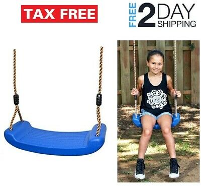 Wiplay Climbing Rope Swing with Foot Holder Rope Ladder for Kids Outdoor with Platforms and Disc Tree Swing Seat Green Backyard Playground Accessories