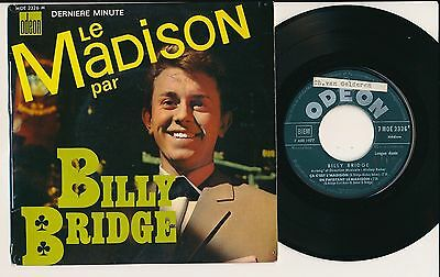 "Billy Bridge 45 Tours Ep 7"" France Le Madison"