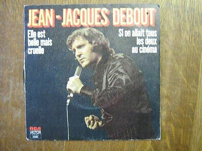 Jean-Jacques Debout 45 Tours France Elle Est Belle Mais