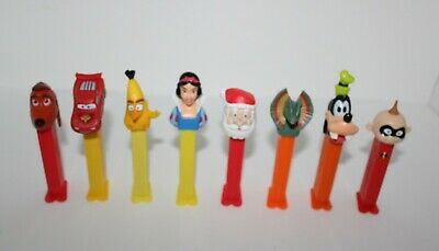 Pez Dispensers Bulk Lot Disney Snow White,Cars Jurassic Park Etc... Lot 3