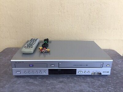Serviced Samsung V70 Combo VCR DVD player + Video Recorder + Remote + RCA VHS