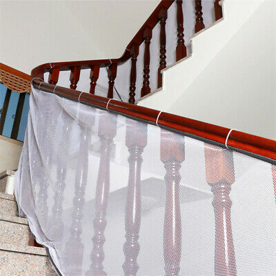 Stair Safety Net Small Gridding Protection Installation Balcony Kid Secure Gate
