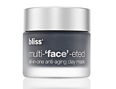 Bliss multi 'face'-eted Clay Mask