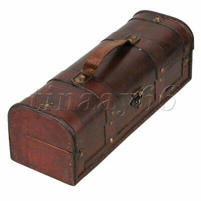 Vintage Wooden Wine Storage Box Bottle Csae Wedding Groomsman Bridesmaid Gift