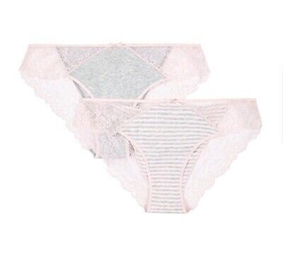 NEW 2 x Mothercare Blooming Marvellous Maternity Knickers Size M Medium 10-12