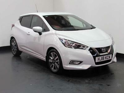 2018 Nissan Micra Hatchback (All New) 1.5dCi 90 N-Connecta