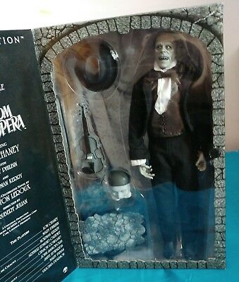 Phantom Of The Opera Sideshow Toys Silver Screen Edition USED