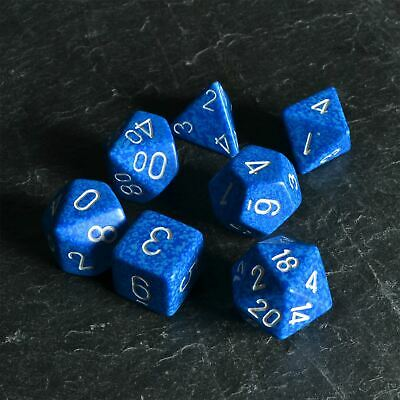 Chessex 25306 Speckled Water Polyhedral 7-Die Set New Dice