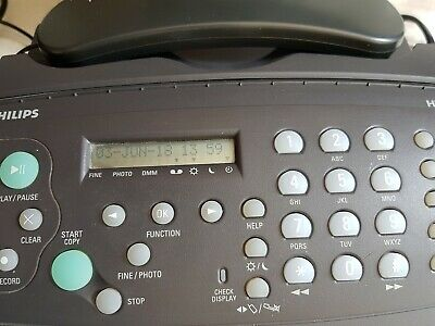 Philips HFC1 171 Fax and telephone Machine full working order