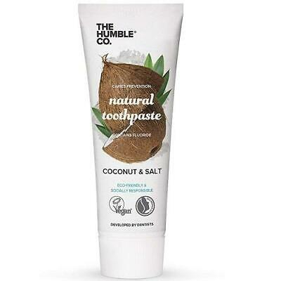 Humble Natural Toothpaste Coconut & Salt With Fluoride 75ml