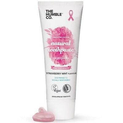 Humble Natural Toothpaste with Fluoride - Pink - 75ml