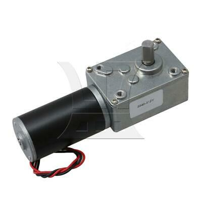 Double Shaft Turbine Worm Gear Reducer Motor No-load Speed 7rpm Silver