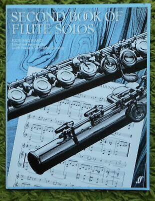 Second Book of Flute Solos + Piano - Pearce & Gunning: 21 Pieces 1985 inc. part