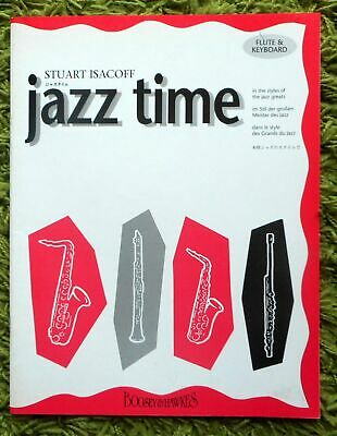 Jazz Time In the Styles of the Jazz Greats - Stuart Isacoff: 11 Pieces + Part
