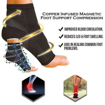Unisex Plantar Fasciitis Foot Compression Ankle Heel Pain Relief Support Socks