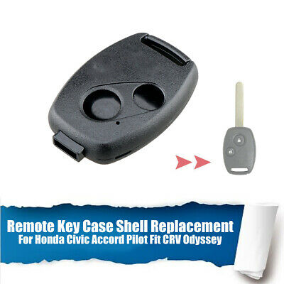 Honda Pilot 2005-2008 Replacement Remote Key Shell Case With Chip Holder