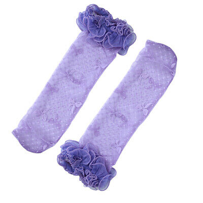Summer Girls Toddler Baby Children Kids Bow Lace Socks Tube Stockings Baby LH