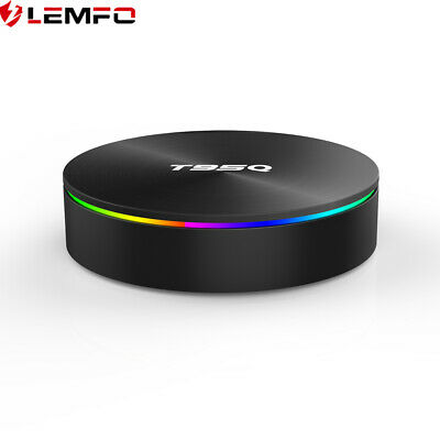 LEMFO T95Q Caja de TV Box Android Quad Core 4GB 64GB Rom 4K HDR Wifi Bluetooth