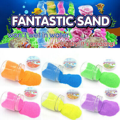 New Kid Child Non-Toxic Educational Play Craft Sand Magic Dry Not Wet Space Sand