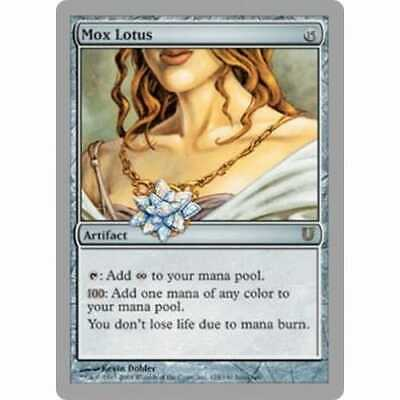 MTG UNHINGED * Mox Lotus - Condition: Excellent