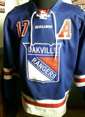 Nathan Staios Oakville Rangers  Game worn jersey Windsor Spitfires GTHL OHL