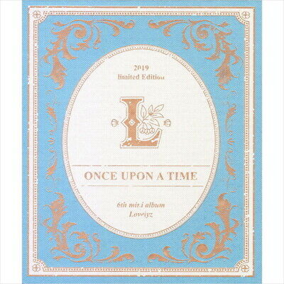 Lovelyz - Once Upon A Time (Limited Ver.) CD+Photocard+Thanks to Card+Poster NEW