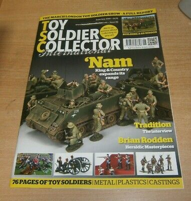 Toy Soldier Collector International magazine #88 JUN/JUL 2019 Brian Rodden &