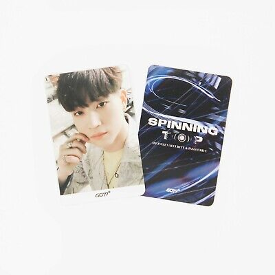 [GOT7] SPINNING TOP Official Photocard / Eclipse / 1pc / JB 6