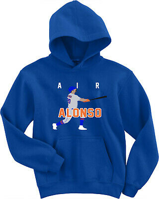 """Pete Alonso New York Mets """"AIR ALONSO"""" HOODED SWEATSHIRT"""