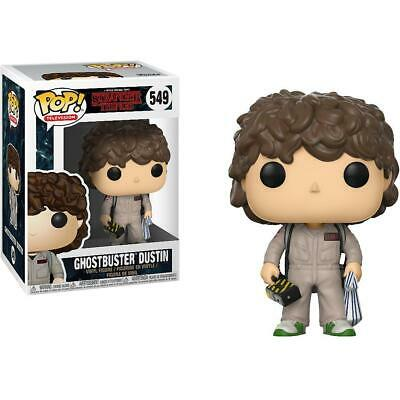 Stranger Things #549 - Ghostbusters Dustin - Funko Pop! Television (Brand New)