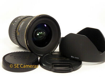 Canon Ef-S Eos Tokina At-X Pro 12-24Mm F4 Sd Wide Angle Zoom Lens *Excellent*