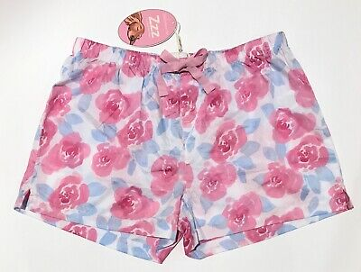 BNWT RRP $39.95 PETER ALEXANDER women's size S Pyjama shorts bottoms flower NEW