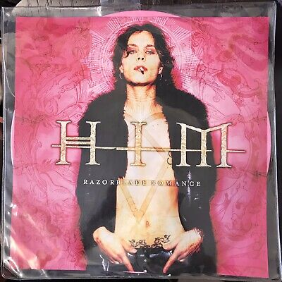 "HIM - ""RAZORBLADE ROMANCE"" Picture Disc LP PINK VINYL -  VERY RARE!! 2004 Sealed"