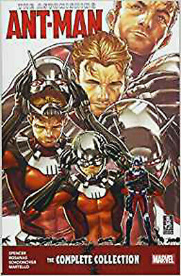 The Astonishing Ant-Man: The Complete Collection, Brent Schoonover,Ramon Rosanos