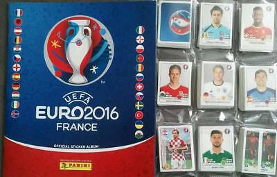 Euro 2016 - Panini - Empty Album + Full Set Of Stickers