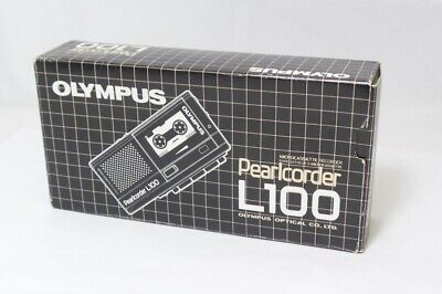 Olympus Pearlcorder L100 - Microcassette Tape Recorder