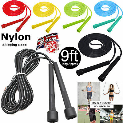 Professional Skipping Rope 3M /10FT Adjustable Gym Boxing Speed Exercise Fitness