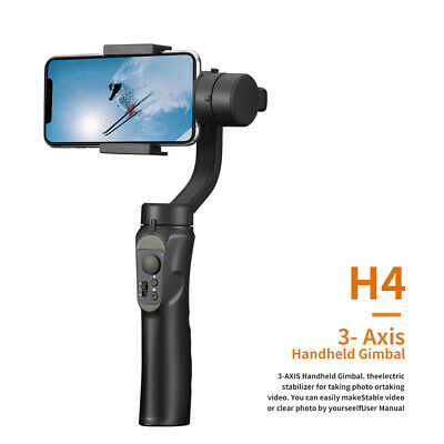 3-Axis Handheld Mobile Phone Gimbal Stabilizer for Smart Phone Action Camera