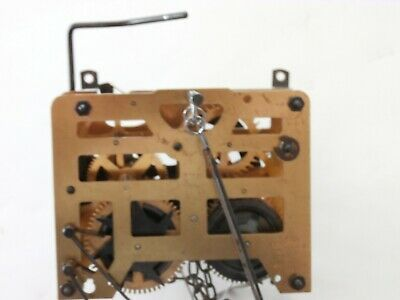 Vintage  German Cuckoo Clock Movement Cleaned And Serviced Working