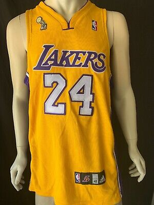 03bd25863e7 ADIDAS LOS ANGELES LA Lakers Kobe Bryant #24 purple road Jersey Mens ...