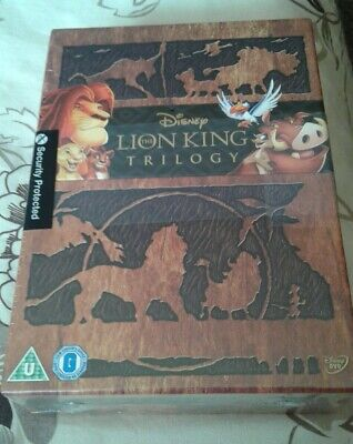 The Lion King Trilogy - 3-Movie Collection - Box Set - plus 1 more New/Sealed