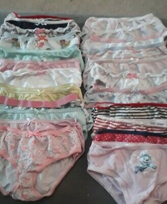 Girls knickers bundle Age 3-4 Years