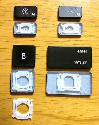 """MacBook Pro Unibody 13"""" A1278, 15"""" A1286, 17"""" A1297 Type AC1 & 5 Replacement Key"""