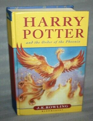Harry Potter and the Order of the Phoenix, Hardback book, First Edition
